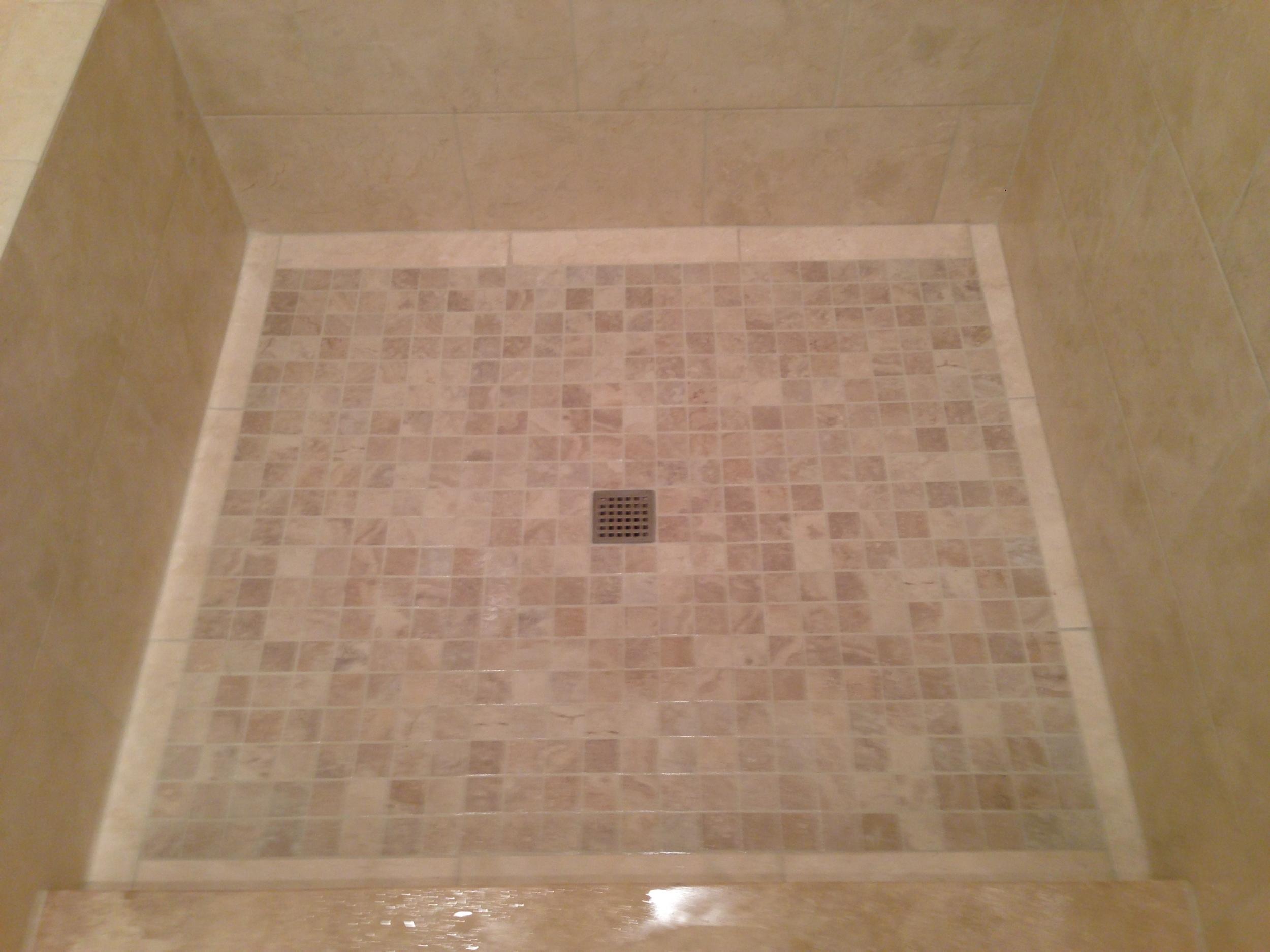 Tiled Shower Floors Bathroom Renovations