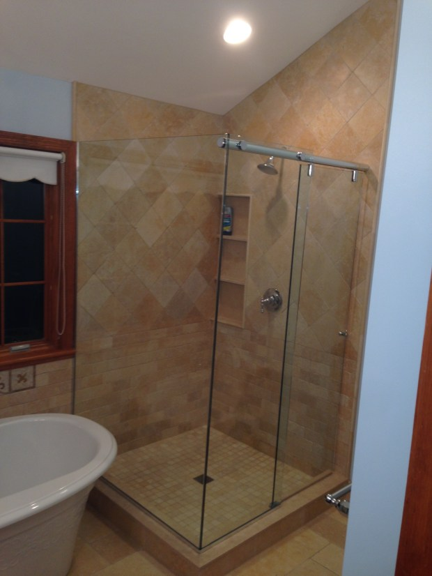 Corner Shower Enclosures Glass Home Design Ideas