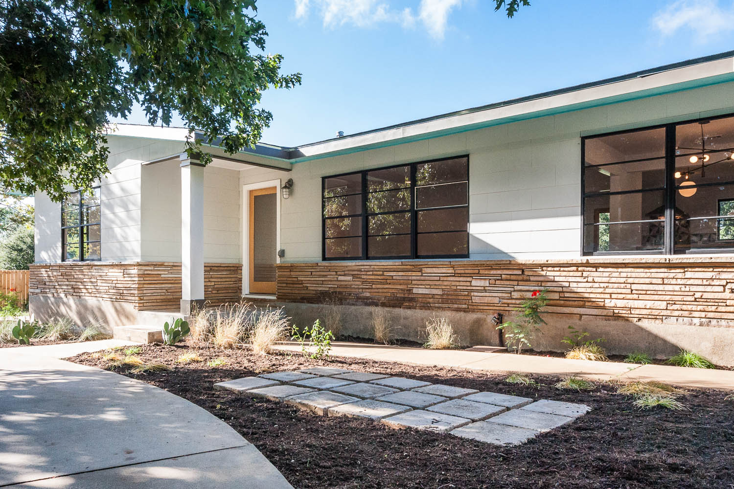 Mid Century Modern Front Porches for Ranches