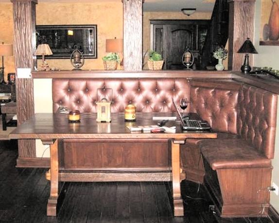 RusticRestaurantBooths  Rustic Restaurant Furniture