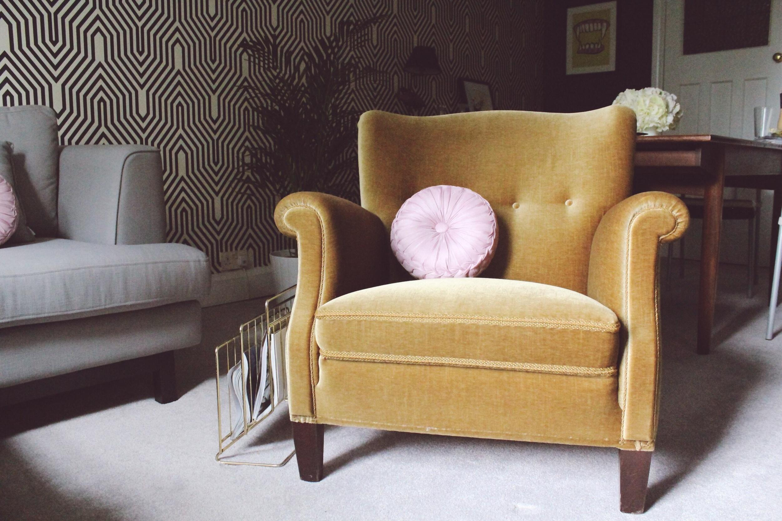 vintage arm chair covers in sri lanka the hunt for perfect armchair sarah akwisombe 50s green velvet