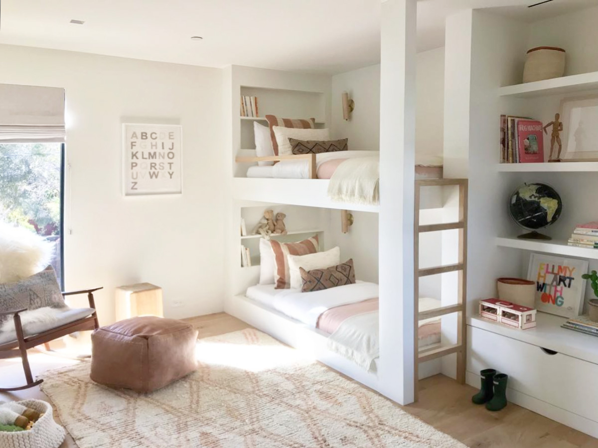 INSPIRATION: SHARED KIDS' ROOMS WITH BUNK BEDS