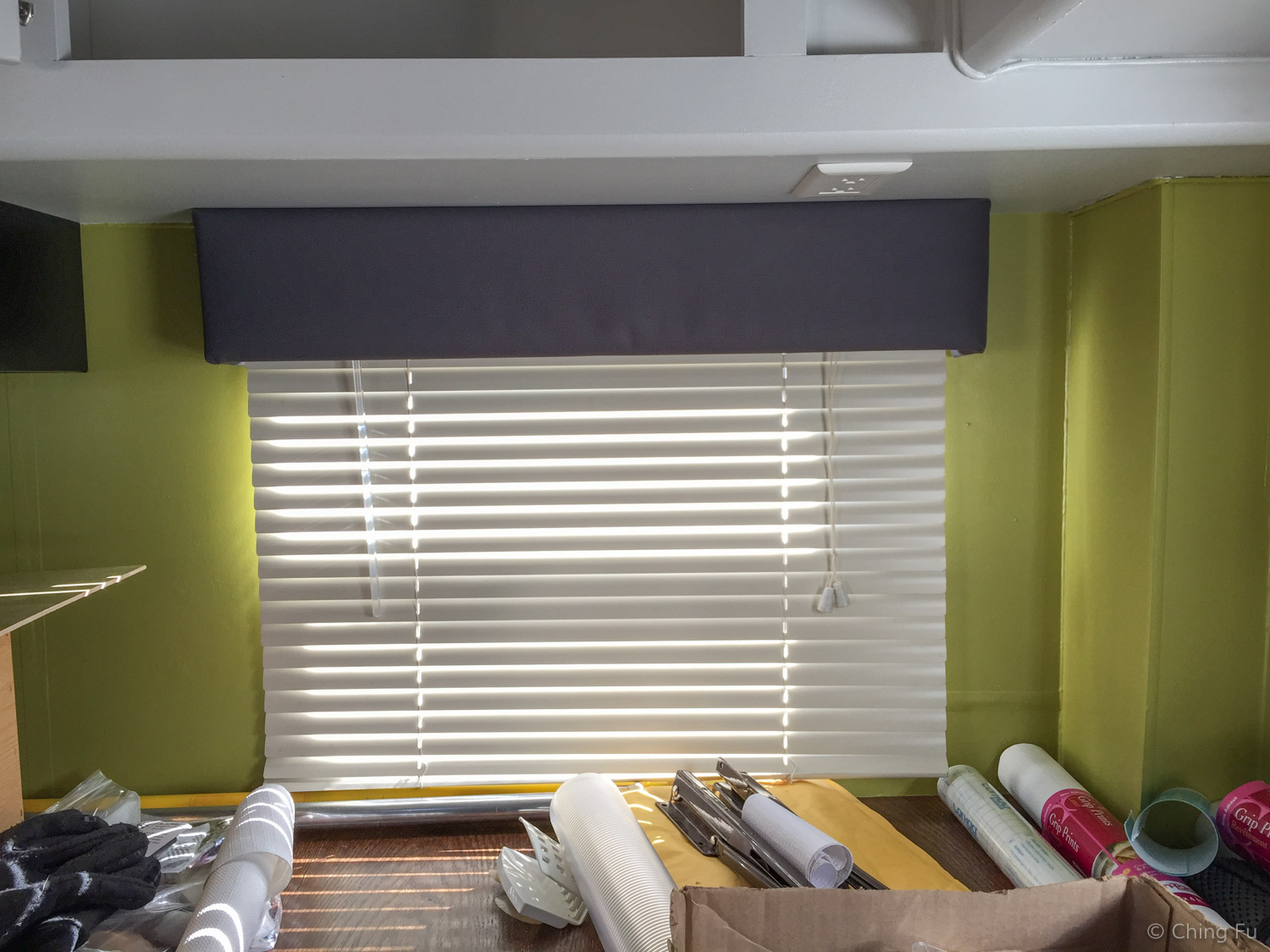 How To Reupholster Window Valances  Live Small  Ride Free  Sustainable Solar Powered RV