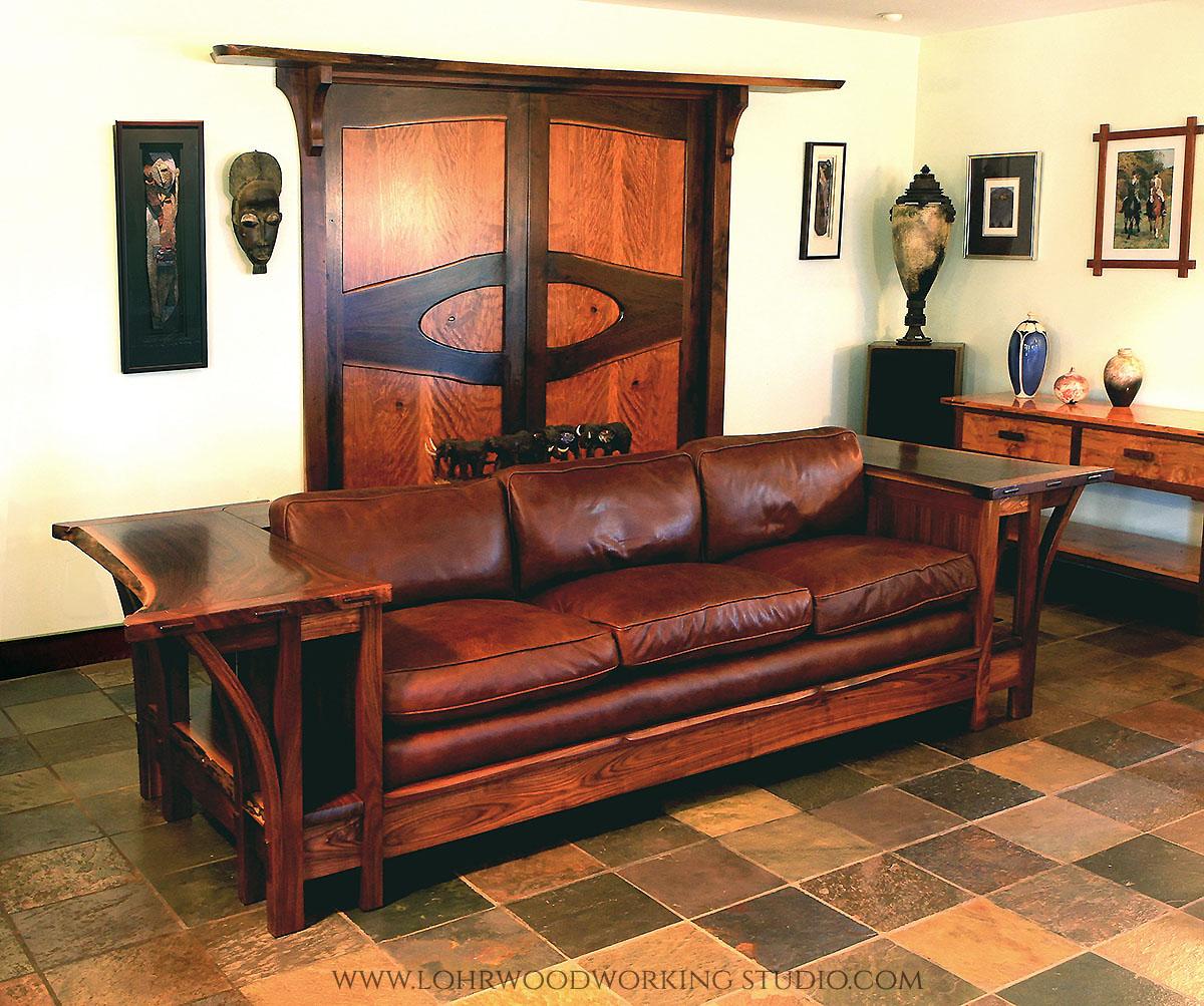 large square sofa cushions air dream sleeper mattress by leggett and platt inc live edge walnut — lohr woodworking studio