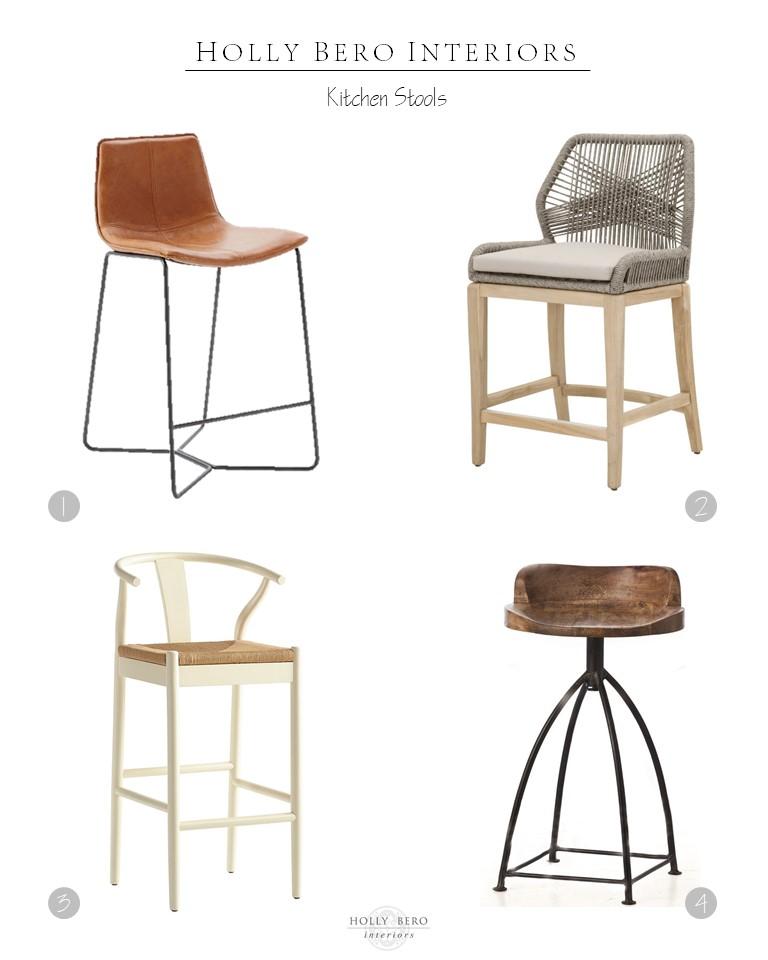 kitchen stools rustic table sets top picks holly bero interiors