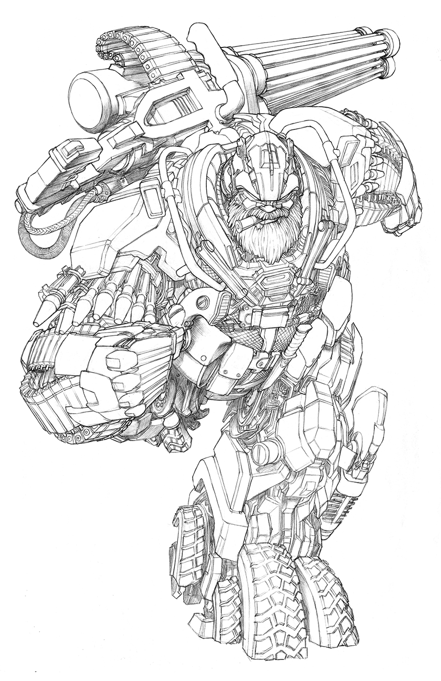 Transformers : Age of Extinction — Gregory Titus Illustration