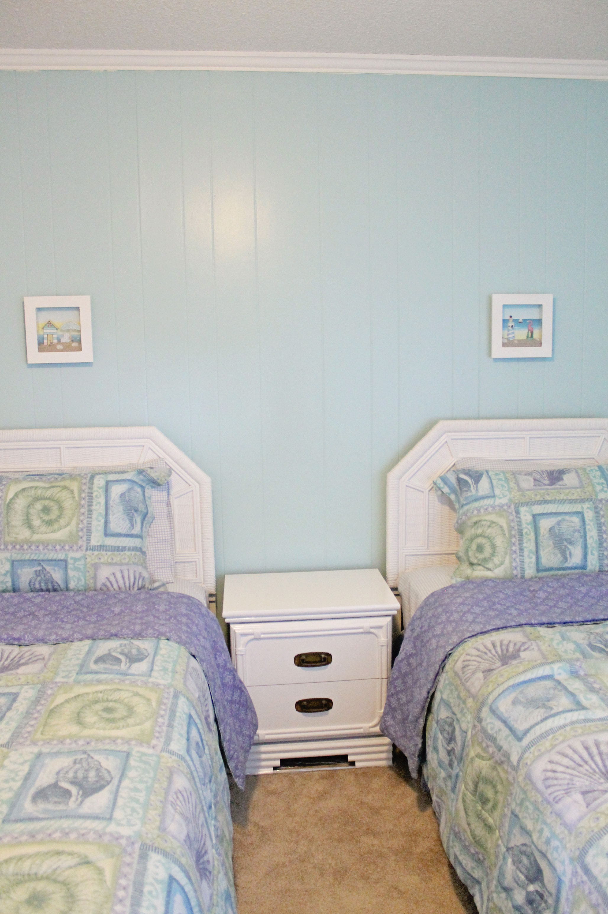 Guest Bedroom Before And After Sea Spray Condo