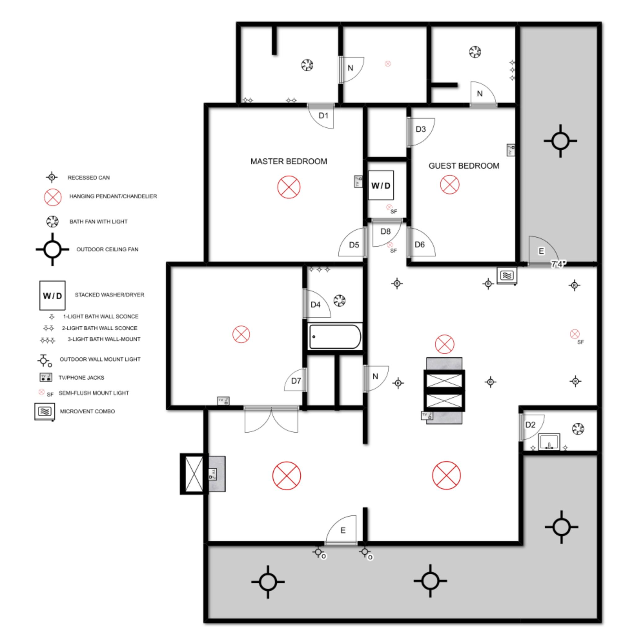 hight resolution of elizabeth burns design electrical plan format 1500w