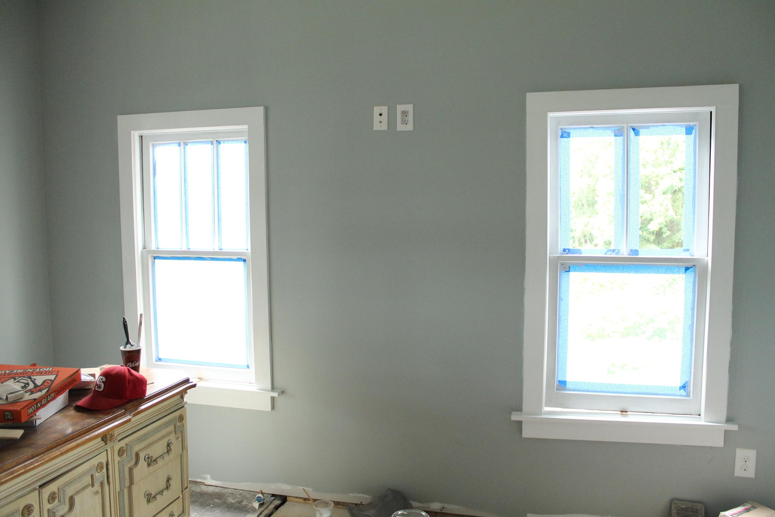 Window Trim  Myrtle House  Elizabeth Burns Design