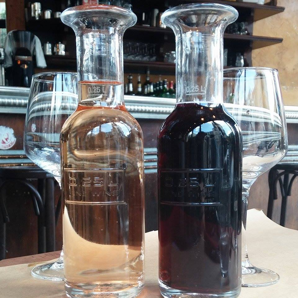Wine at La Fourmi