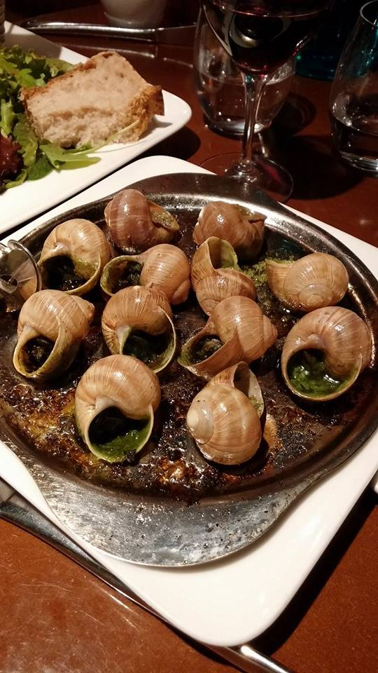 Escargot at Au Pere Louis