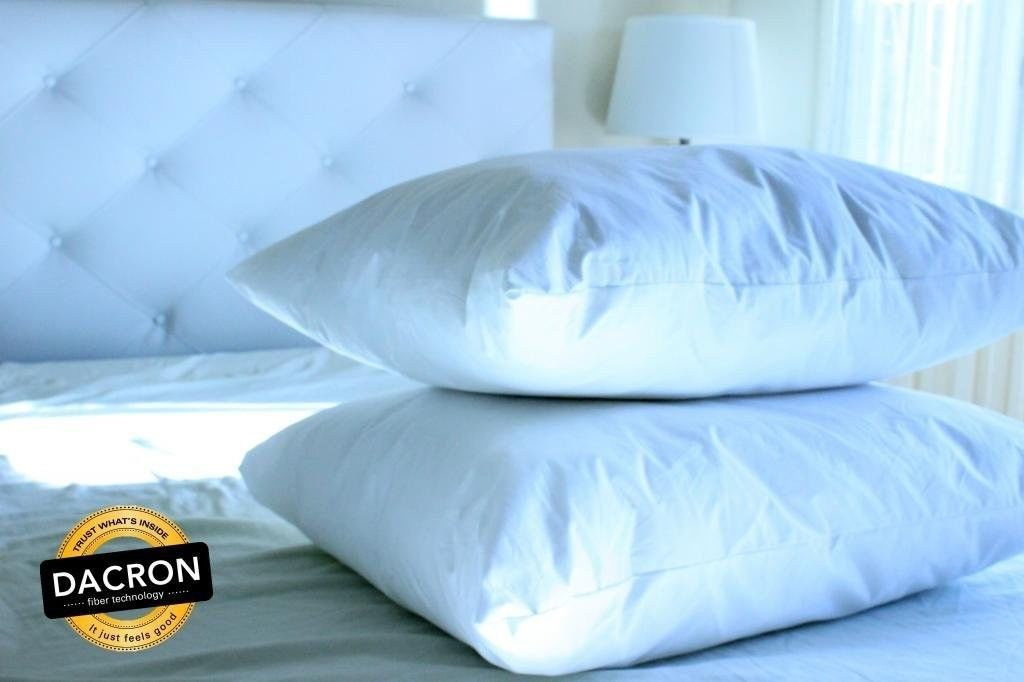BellaResto Down Alternative Pillows Set of 2  Digital Decor