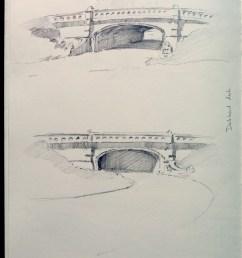 dalewood arch built 1860 1862 by calvert vaux stone arch vehicle bridge  [ 1000 x 1468 Pixel ]