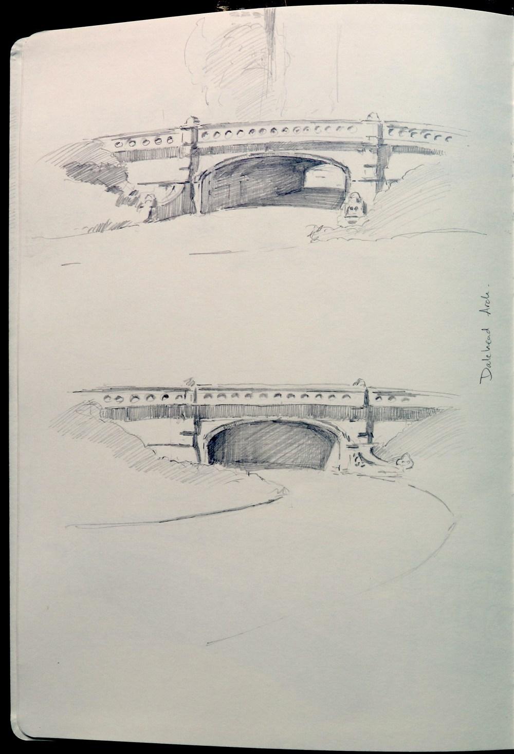 medium resolution of dalewood arch built 1860 1862 by calvert vaux stone arch vehicle bridge