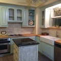 Cottage kitchen before and after renovate