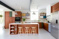 Midcentury Modern Stunner Kitchen Remodel  Veneer Designs