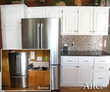 repainting kitchen cabinets apron front sink diy friday the simple way to repaint your andrea pack