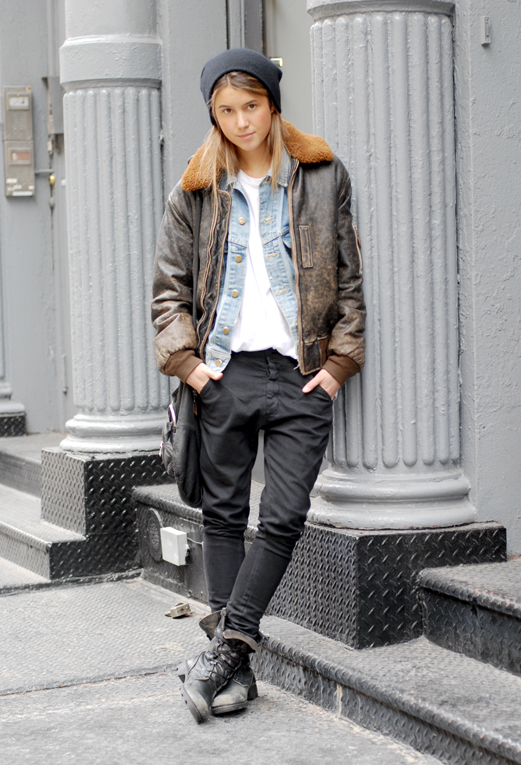 Qweary Female Stud Skater Style Qwear Queer Fashion