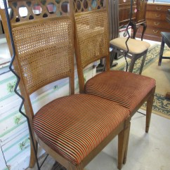 Cane Back Chairs For Sale Garelick Fishing Chair Pair Of Mid Century Vintage Store Love