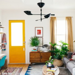 Ideas For A Small Living Room Pictures Nice Wall Colors My Makeover West Elm Old Brand New