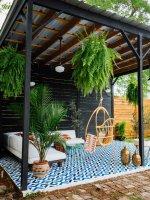 Patio DIY • Painted Floor Tiles — OLD BRAND NEW