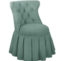 Bedroom Chair With Skirt High Back Office Slip Covers A Designer Collection Debuts Tilton Fenwick Furniture For Target Those That Prefer This Tailored Option The Skirted Would Work Well At Dressing Table