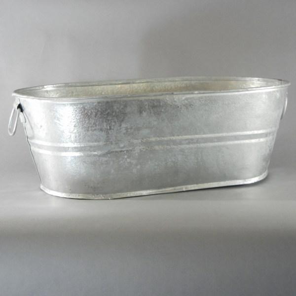 Round Galvanized Steel Tub