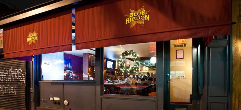 Blue Ribbon Brasserie  Brooklyn  Bromberg Bros Blue