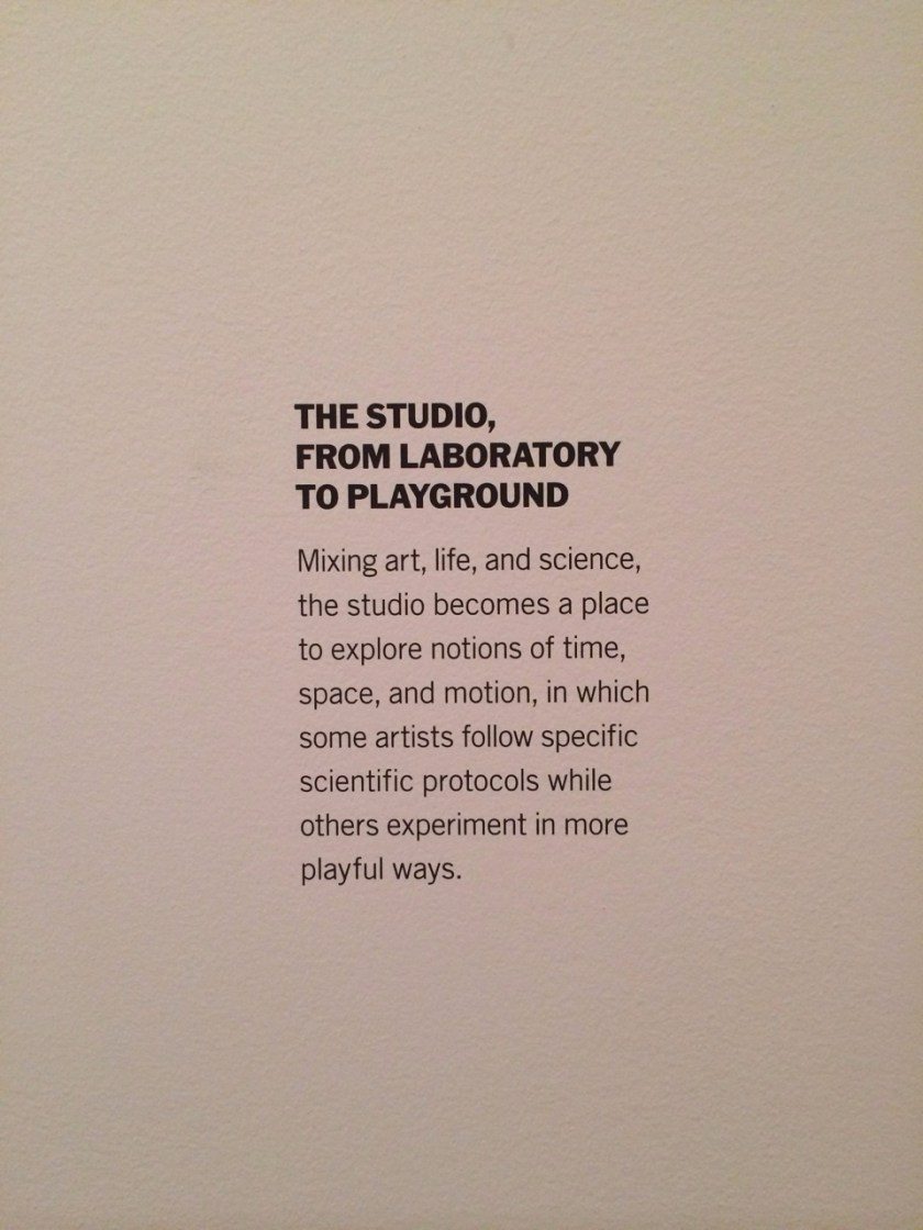 I discovered this today at MoMA. Still want my own studio, playground, or lab one day. These environments fuel creativity and most importantly, they see you working.