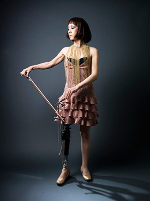 'My artificial leg doubles as a musical instrument' - Masami Orimo Creativity is boundless.