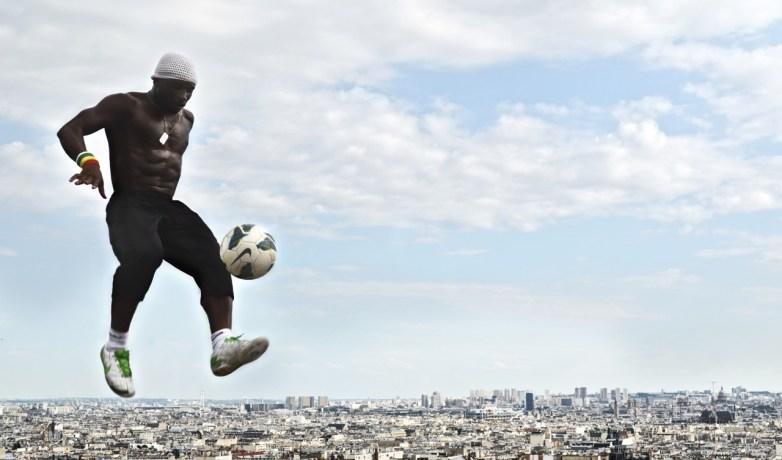 Football over Paris
