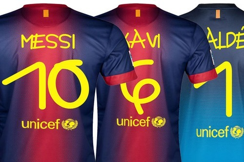 """Great story: """"Barcelona kit for Santos match to feature unique lettering created by artist with Down Syndrome"""""""