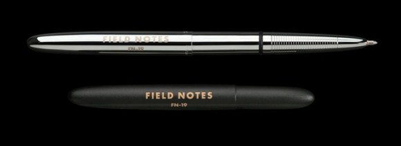 "New ""Space"" pens from Field Notes:  These pens are the real deal, precision-made, durable, and capable of writing in zero gravity, upside down, underwater, and at temperatures from −30 to 250°F (−35 to 120°C)."