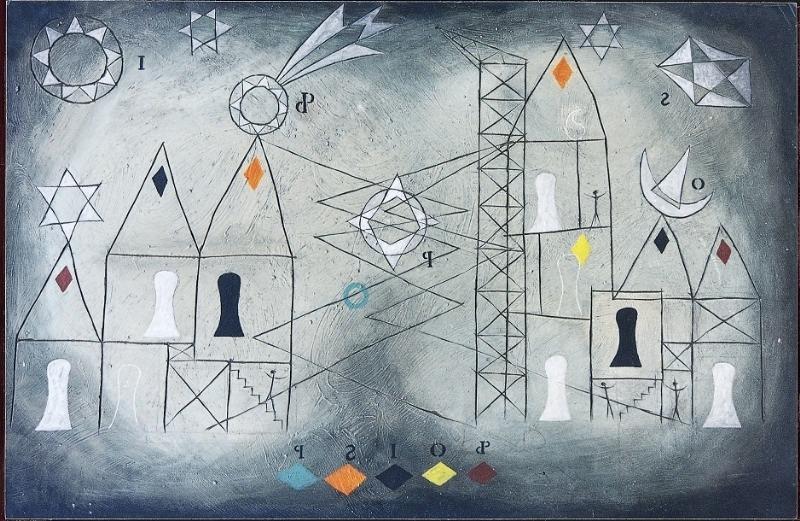 The City by Julian Trevelyan (1936)