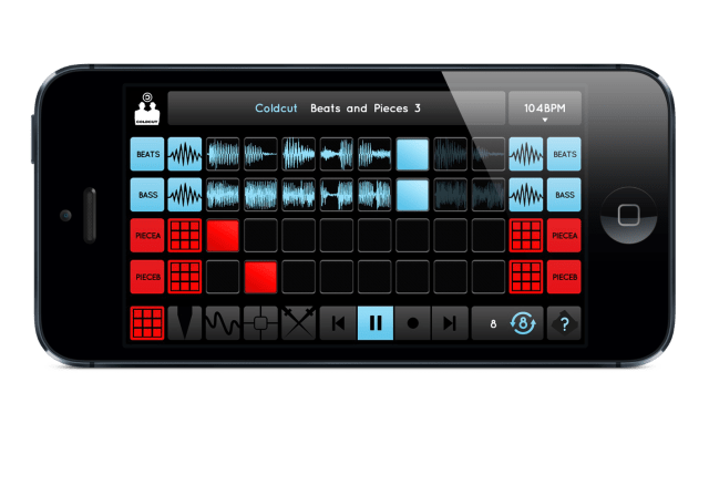 Ninja Jamm, the new app from British electronic label Ninja Tune.  DIY.