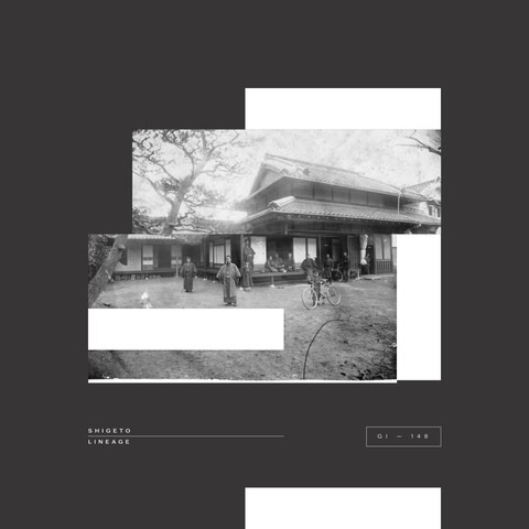 Shigeto's Lineage Vinyl skeeve artwork for Ghostly.