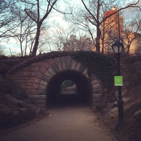 at Inscope Arch Central Park