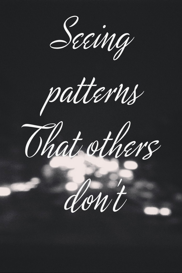 """art-dacity: Creativity: """"Seeing patterns that others don't and effectively communicating them."""" - David Meerman"""