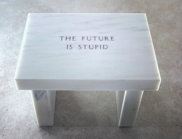 nevver: The Future is Stupid The only time is now?