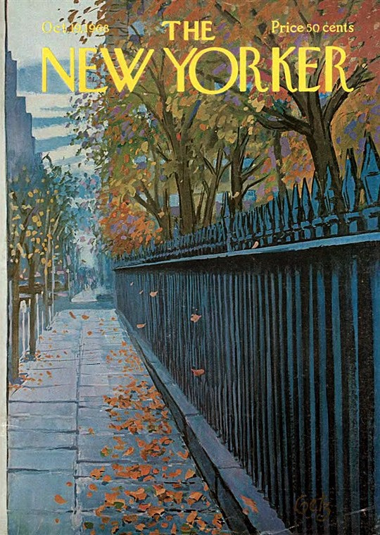 Timeless cover.  The New Yorker, October 1968