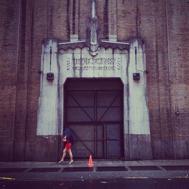 Lady in Red (Taken with Instagram at CITY OF NEW YORK - CENTRAL SUBSTATION)