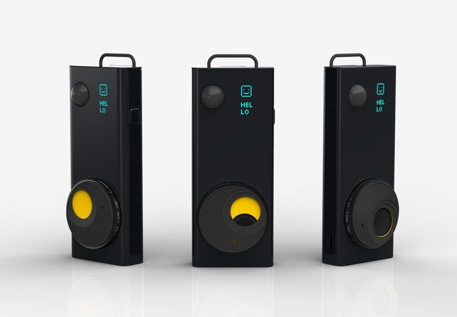 Instagram + Big Brother = Autographer It's technically brilliant, using five sensors that discern the best 2,000 moments of your life to capture each day (measuring changes in light, motion, direction, color, and temperature to track activity). - Fast Code Design