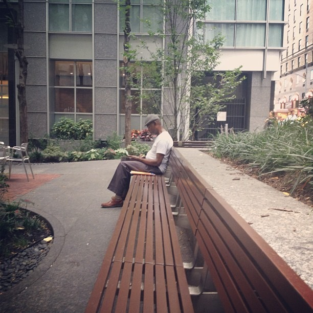 Deep Thoughts (Taken with Instagram at Public Plaza)