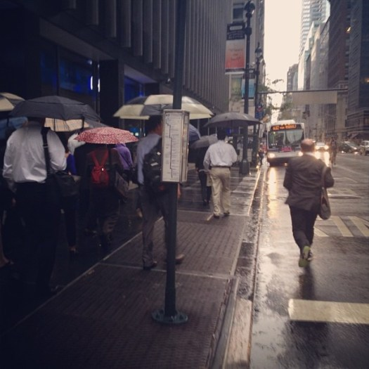 "As @GhostfaceKillah says, ""Run!"" #bigcityrain (Taken with Instagram at 348th street)"