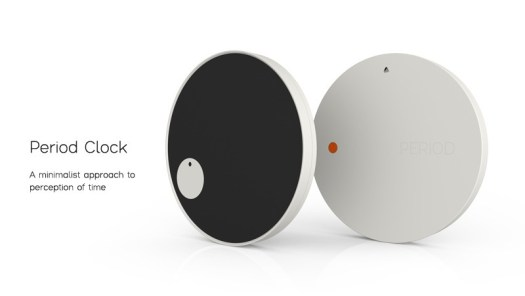 Period Clock: A minimalist approach to perception of time