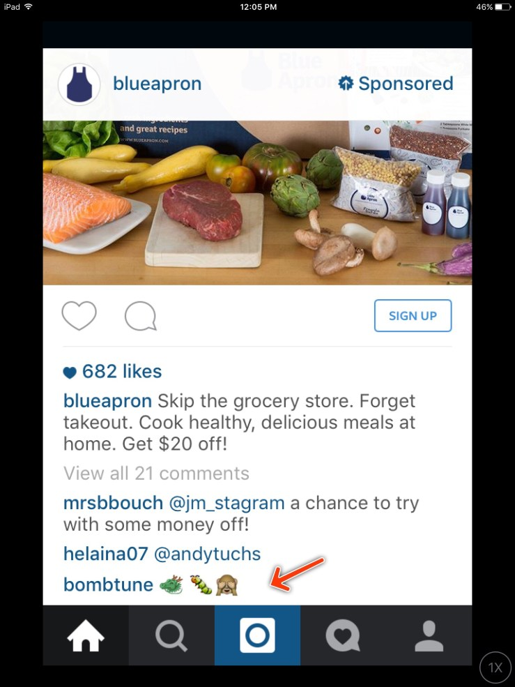 Instagram is no longer an imaginary world.