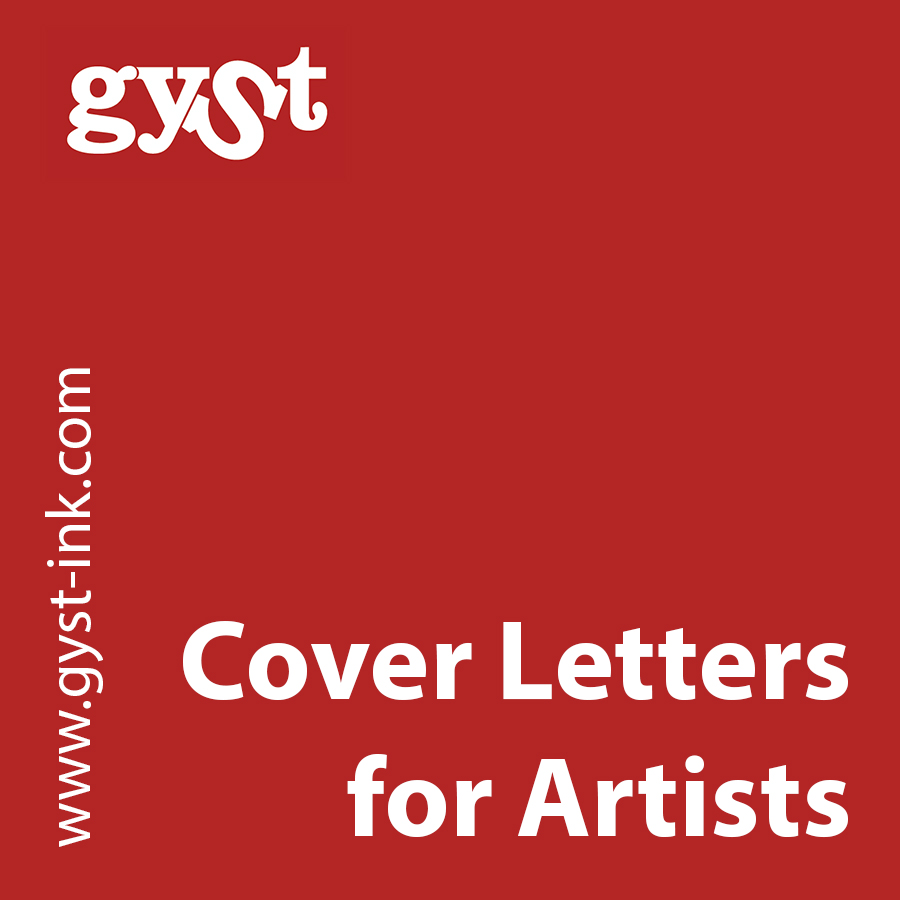 Artist Agent Cover Letter Gyst Article Cover Letters For Artists Getting Your Sh T Together