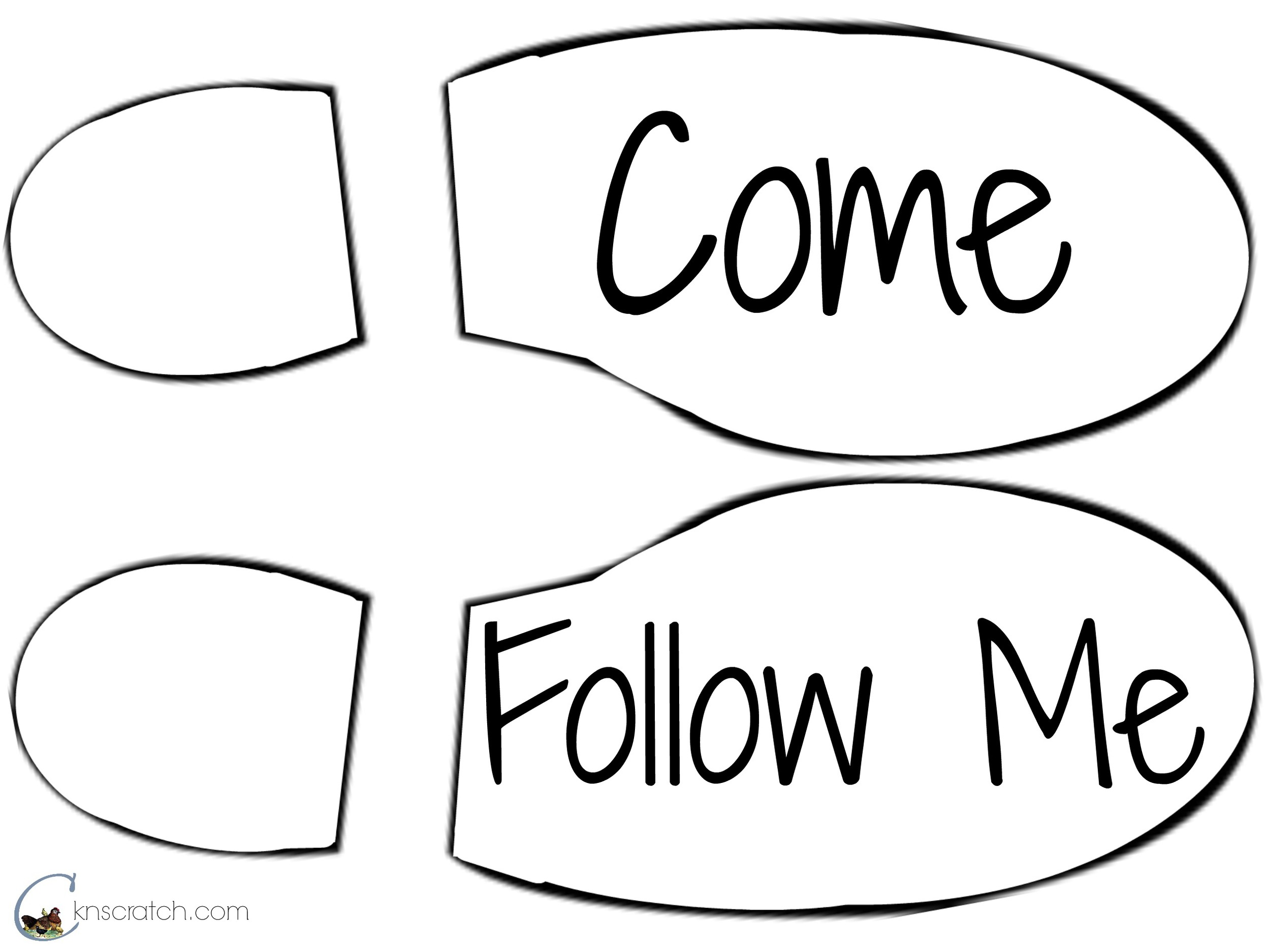 Lesson 15: Come Follow Me — Chicken Scratch N Sniff