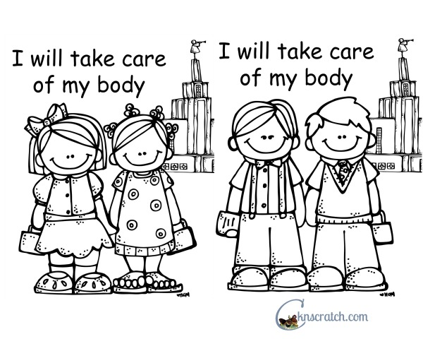 Behold Your Little Ones Lesson 10: I Will Take Care of My