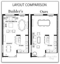 House plans with large living rooms - Home design and style